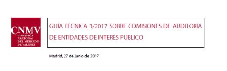 Thumbnail Guia Tecnica CNMV Comisiones Auditoria